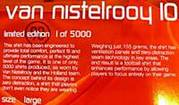 Holland van nistelrooy football shirt 1-5000 made,  in box