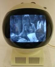 Very Rare Original 1970 Jvc Videosphere TV (WORKING MODEL)