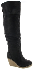 Womens Leather Boots - Over Knee High Boots UK