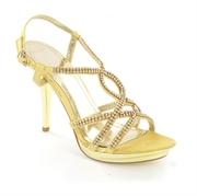 Low Wedge,  Flat & Strappy Heels Ladies Sandals