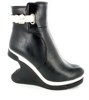 Ladies Ankle Leather Boots with Heels for Women UK
