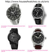 Luxury Oris watches at House of Watches