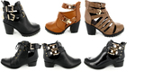 Ladies Riding Leather Shoe Boots on Sale Online,  womens black Shoes
