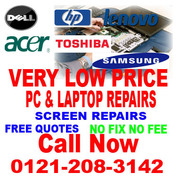 Low Price Laptop and PC Repairs