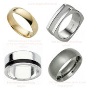 Exclusive collection of mens rings at The Jewel Hut