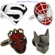 Boost your personality with superhero cufflinks