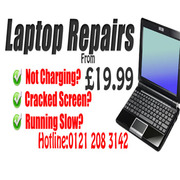 Low Price Laptop and PC Repairs From Only 19.99!