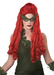 Lethal Beauty Poison Ivy Wig Costume Accessory