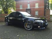 audi rs 4 AUDI RS4 QUATTRO PHANTOM BLACK 06 REG V8