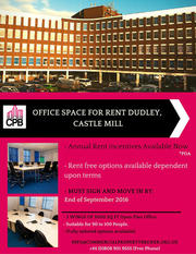 OFFICE SPACE FOR RENT CASTLE MILL,  DUDLEY