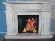 CREMA NOVA - Marble Fireplace