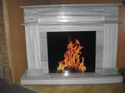 MARMARA - marble fireplace