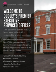 . Executive Office Space Available TO-LET Dudley