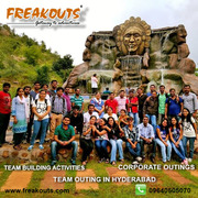 Corporate team outing in Hyderabad | Freakouts