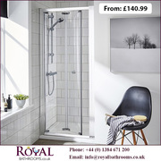 Bi-fold Shower Doors for Sale in UK
