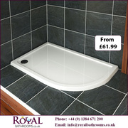 Royal Offset Quadrant Shower Tray