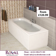 Different shape and Size available in Straight Bath