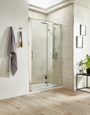 Designer Sliding Shower Enclosures at Bathroom 4 Less