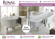 Top Quality Traditional Freestanding Baths for Sale Uk