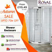 Autumn Sale upto 70% off on Shower Enclosures