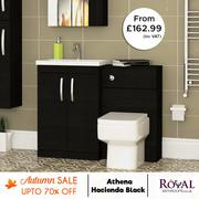 Hacienda Black Bathroom Furniture