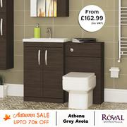 Avola Grey Bathroom Furniture