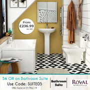 Modern Bathroom Suites by RoyalBathrooms
