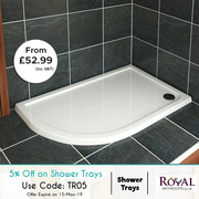 Wet Room Shower Trays with a Big Offer