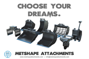 Metshape Attachments offer High Quality Excavator Attachments
