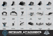Low Cost & High Quality Excavator Attachments from Metshape Attachment