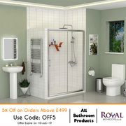 All Bathroom Products 5Percent Off on Orders Above £499
