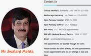 Spondylolisthesis Treatment UK |Mr Jwalant S. Mehta