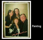 Portrait oil paintings from photos in China as Father's Day's present